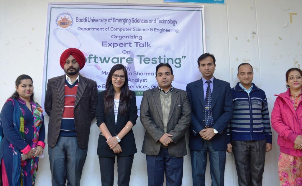 Expert Alumni Talk by Ms  Pratima Sharma (Testing Analyst at