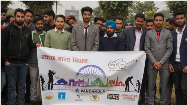 Swachh Bharat Mission by SMS in association with Municipal