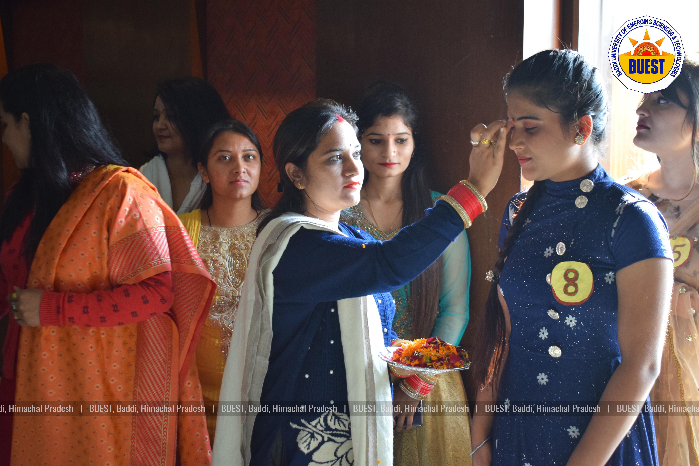 B Sc Nursing Students Fresher Party - Baddi University