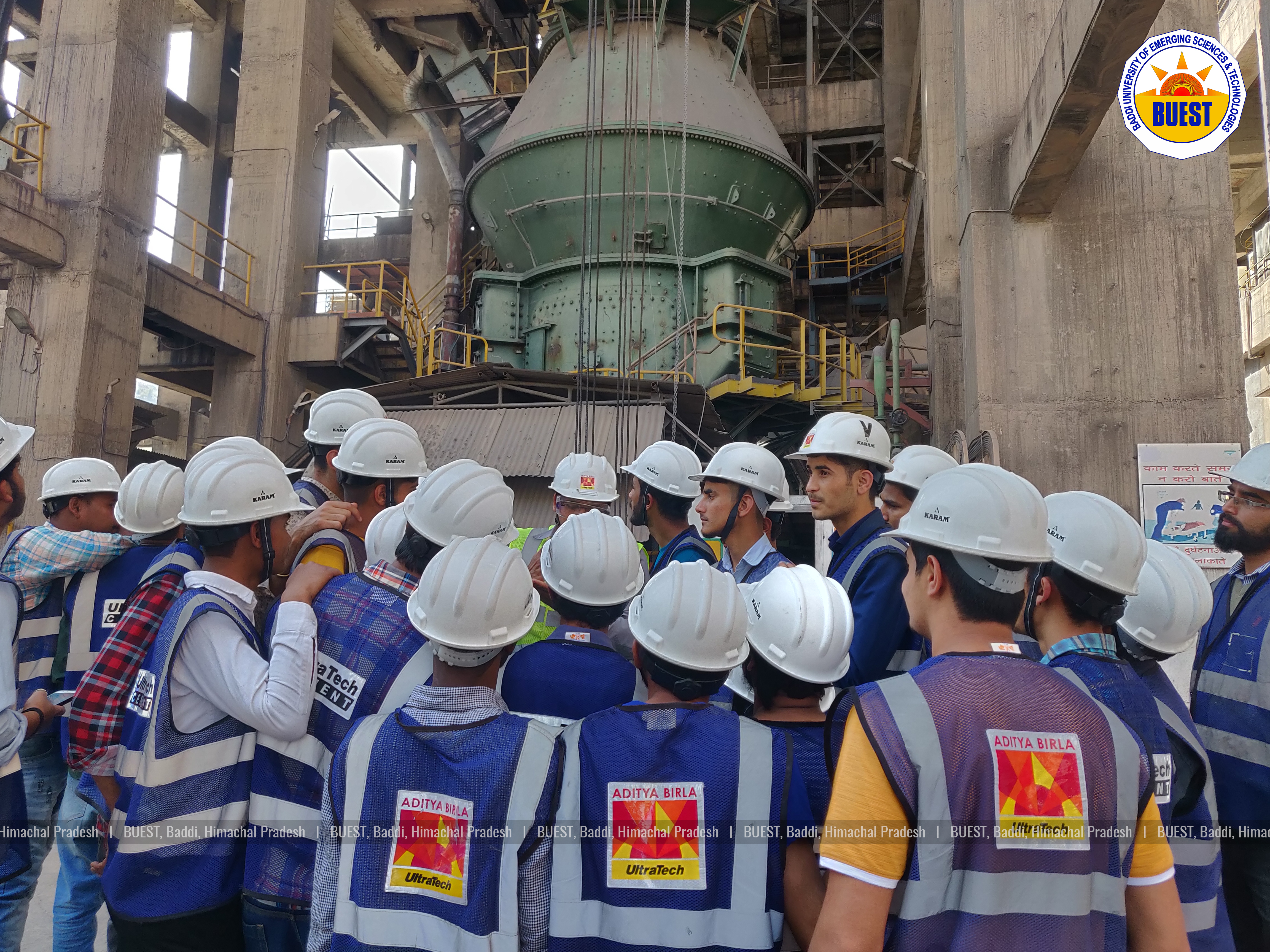 Industrial Visit of Civil Engineering Department - Baddi University